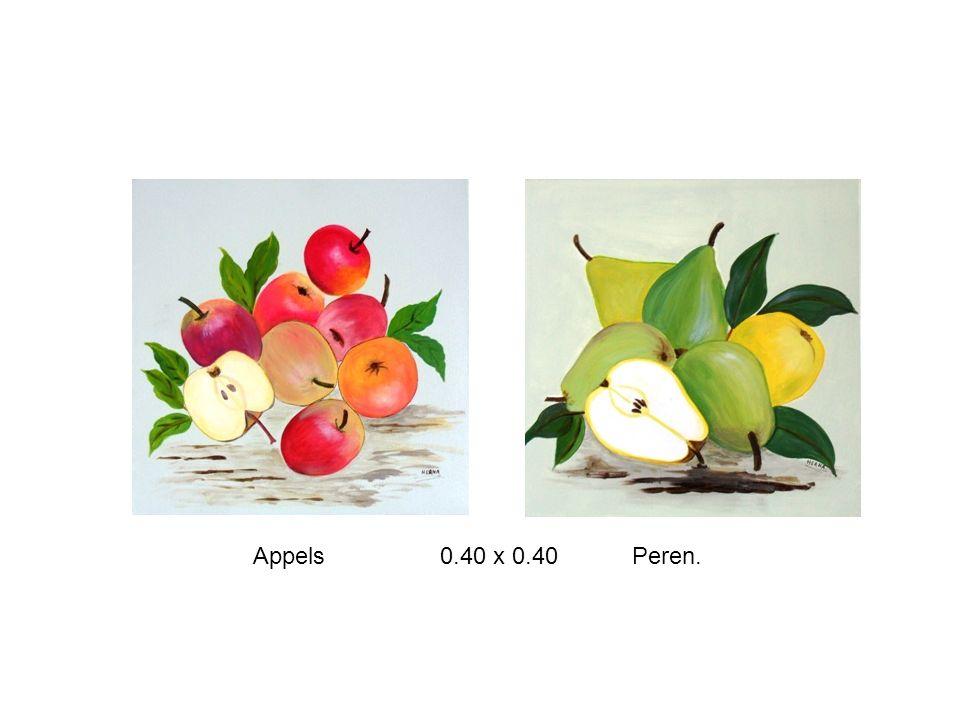 Appels 0.40 x 0.40 Peren.