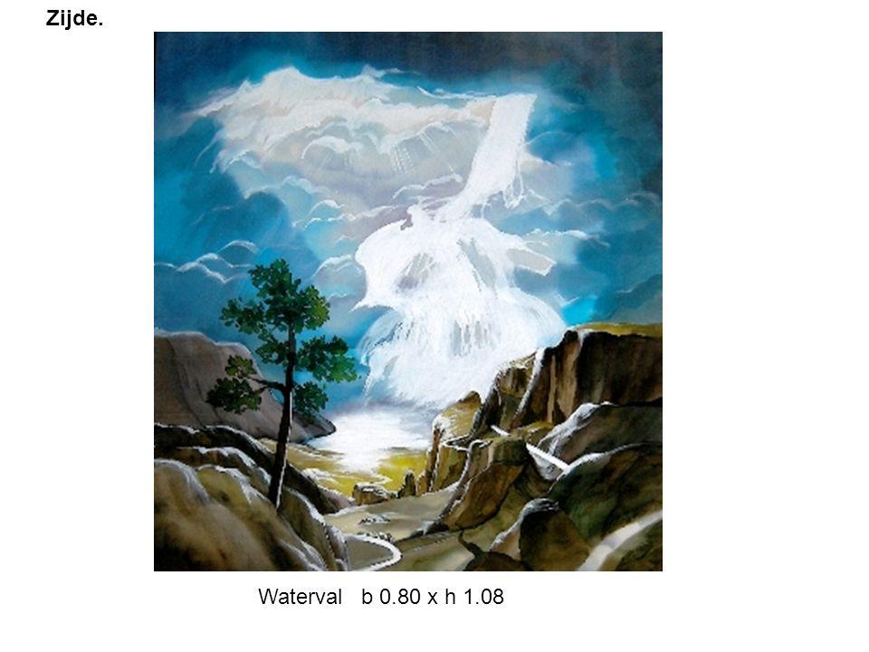 Waterval b 0.80 x h 1.08 Zijde.