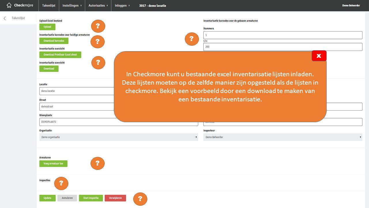 Als u de beschikking heeft over een labelprinter kunt u met Checkmore een Qr-code uitprinten.