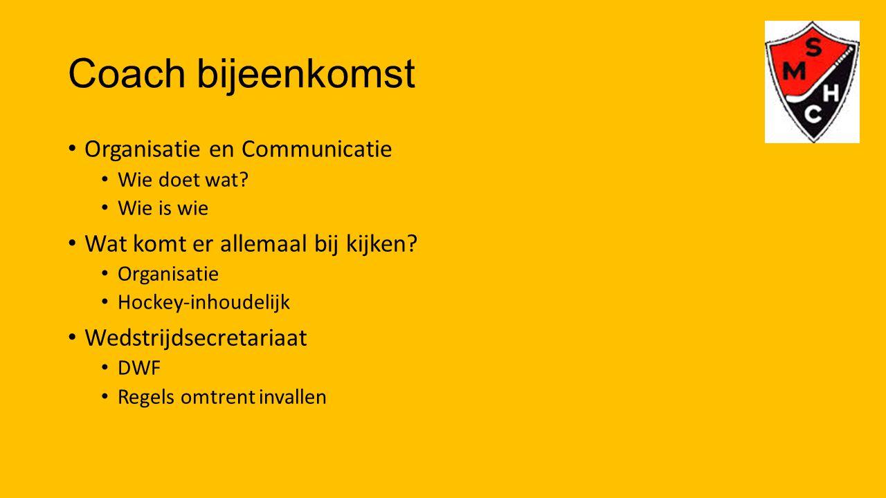 Arbitrage Spelregelwijzigingen Wie fluiten er.Spelbegeleider i.p.v.