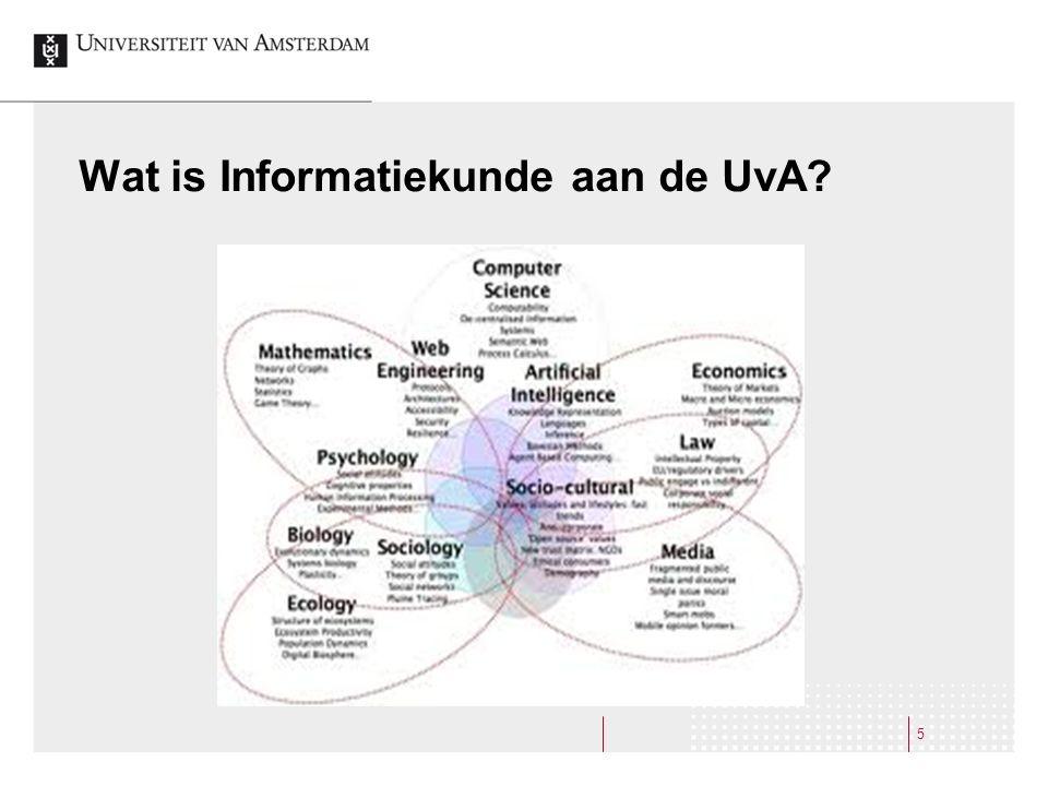 Wat is Informatiekunde aan de UvA? 5
