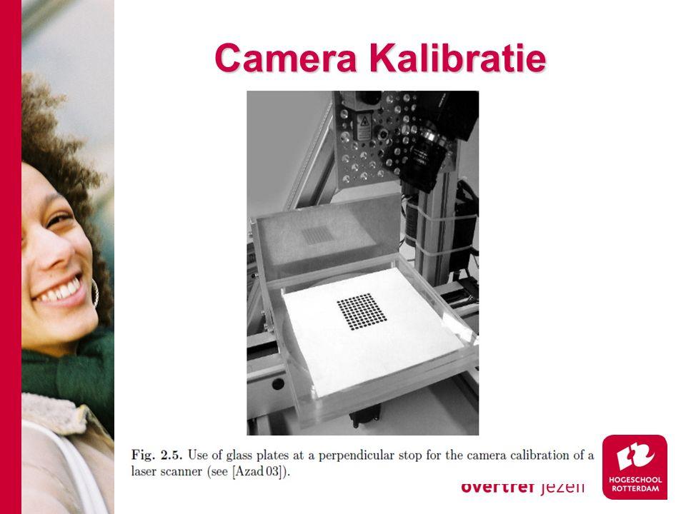 # Camera Kalibratie