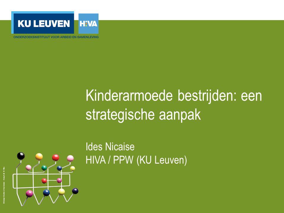 Design Charles & Ray Eames - Hang it all © Vitra Kinderarmoede bestrijden: een strategische aanpak Ides Nicaise HIVA / PPW (KU Leuven)