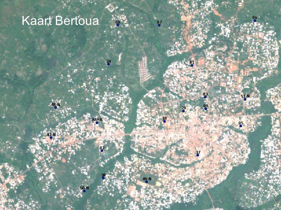 Kaart Bertoua
