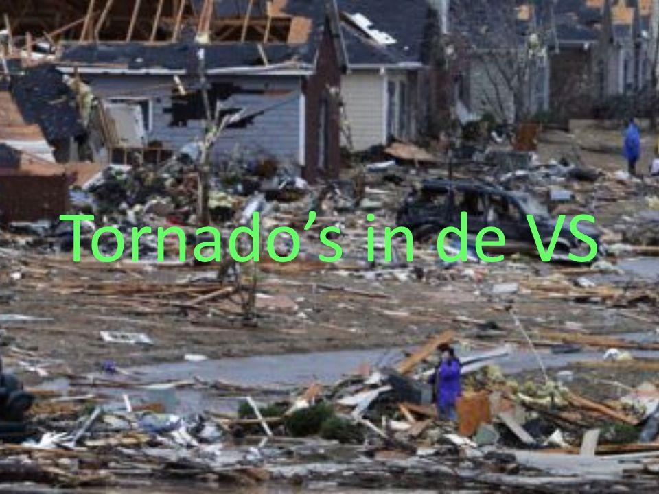 Tornado's in de VS