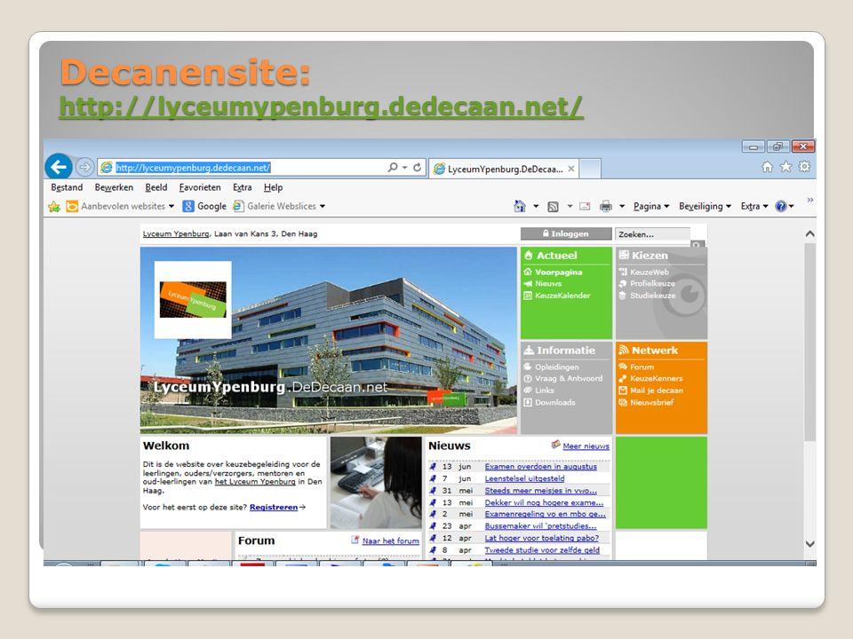Decanensite: http://lyceumypenburg.dedecaan.net/ http://lyceumypenburg.dedecaan.net/