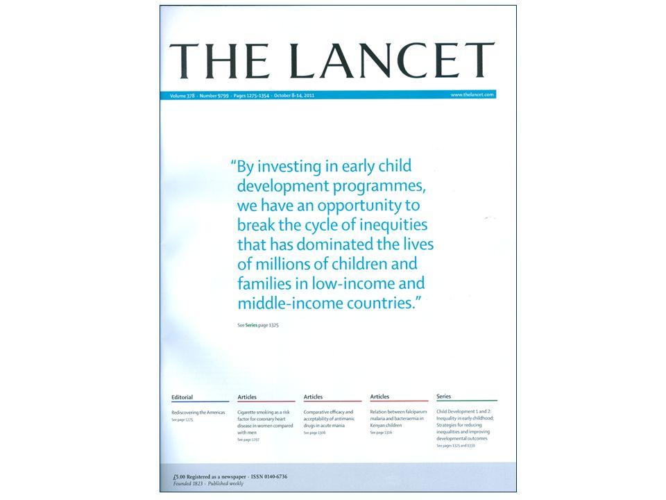 Kinderarmoede en gezondheid: Aanpak vanuit de politiek 1.Verminder de inkomensongelijkheid 2.Geef elk kind een goede start in het leven, en creëer kansen via onderwijs 3.Investeer in een drempelloze en kwaliteitsvolle eerstelijnsgezondheidszorg 4.Monitor de gezondheid van kinderen systematisch 5.Werk internationaal samen