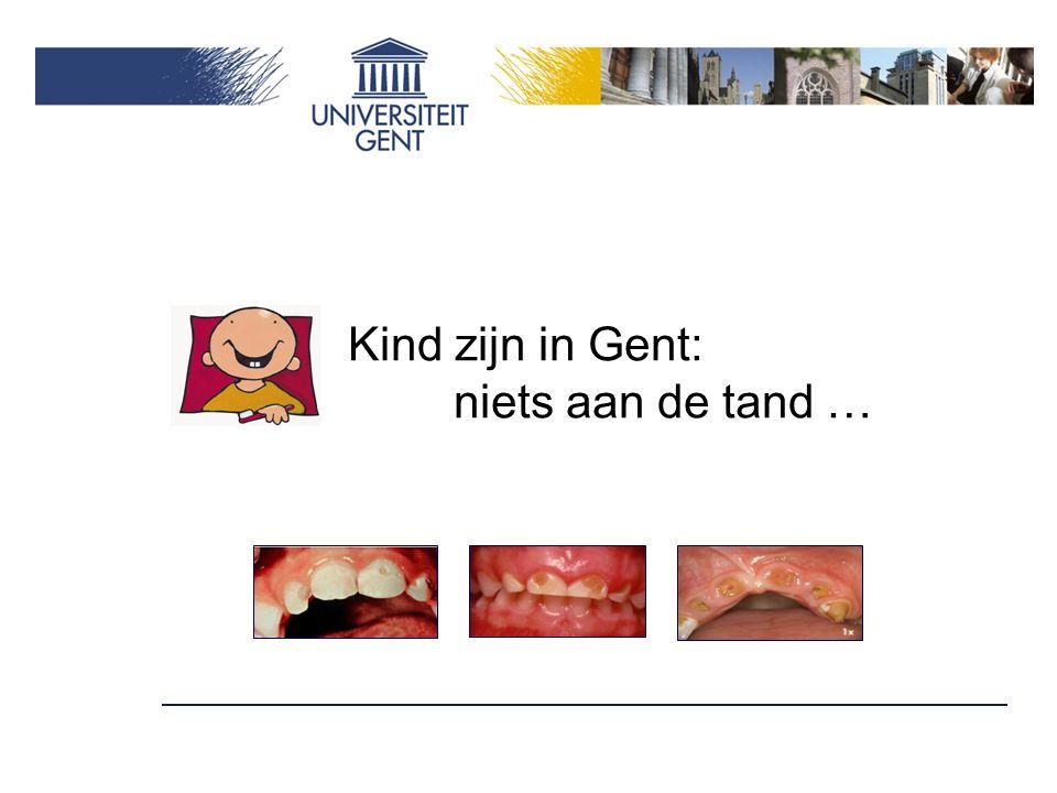 Kind zijn in Gent: niets aan de tand …