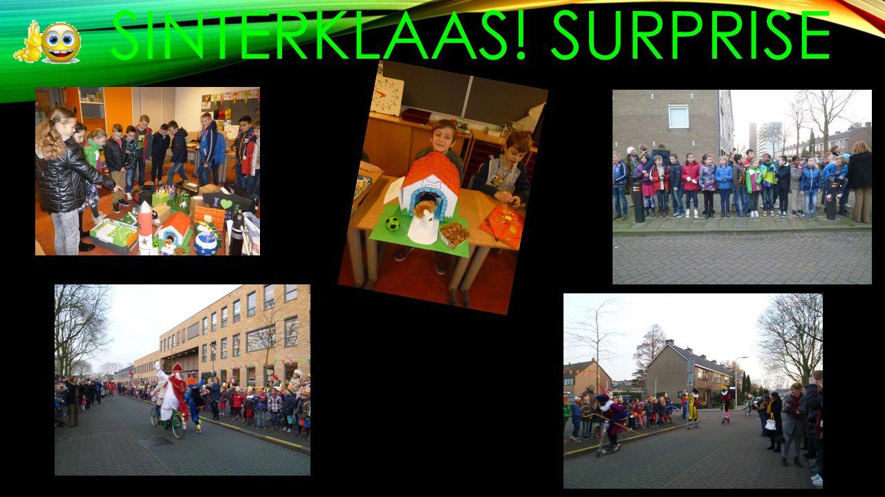 SINTERKLAAS! SURPRISE