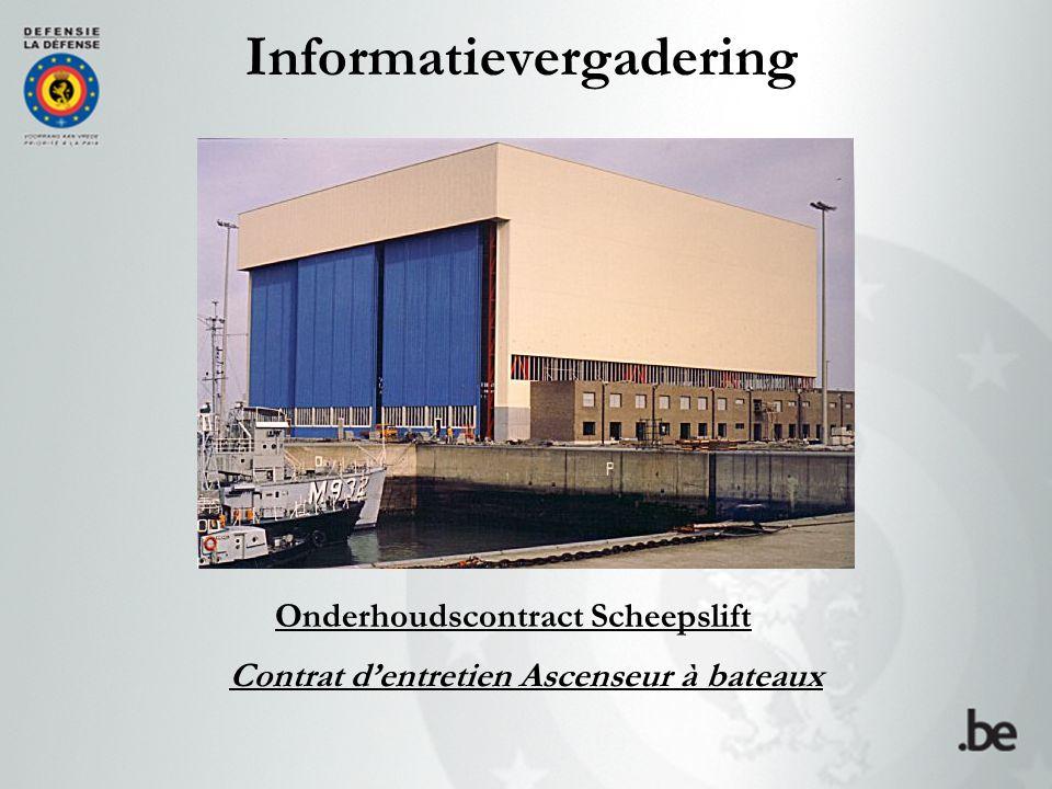 Doelstelling conforme Het administratief en technisch luik van de open overeenkomst 13IS815 toelichten teneinde conforme offertes te bekomen.
