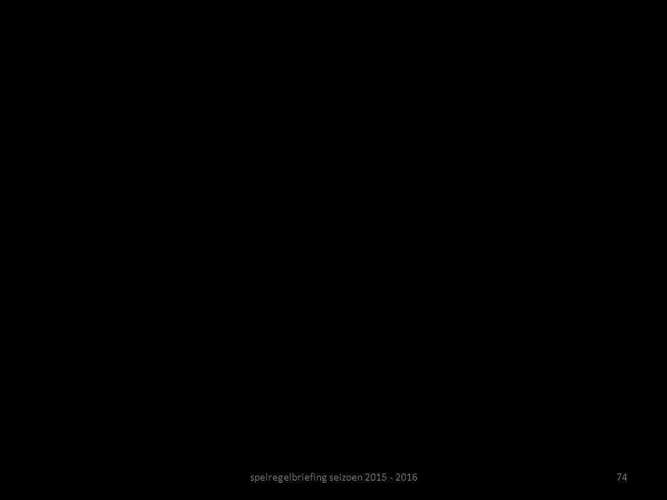 74spelregelbriefing seizoen 2015 - 2016