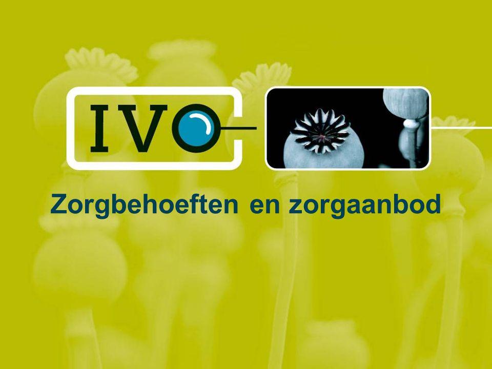 Zorgbehoeften doelgroep Wat denken de professionals.