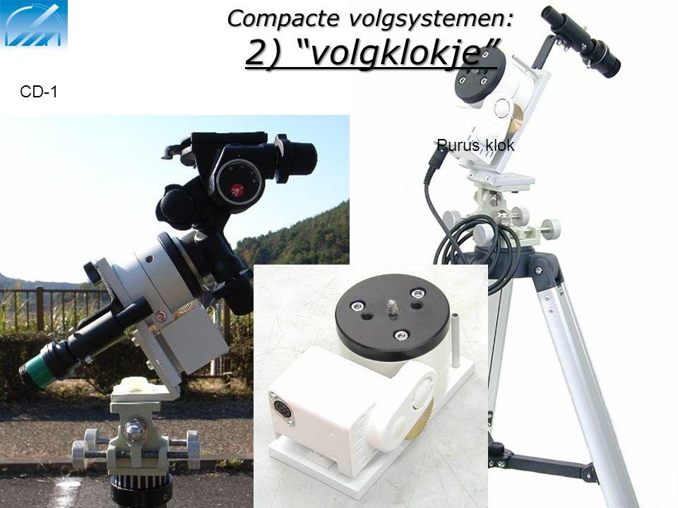"""Compacte volgsystemen: 2) """"volgklokje"""" Purus klok CD-1"""