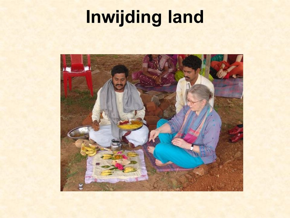Inwijding land