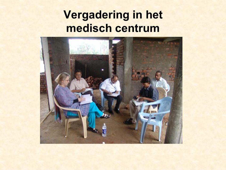 Vergadering in het medisch centrum