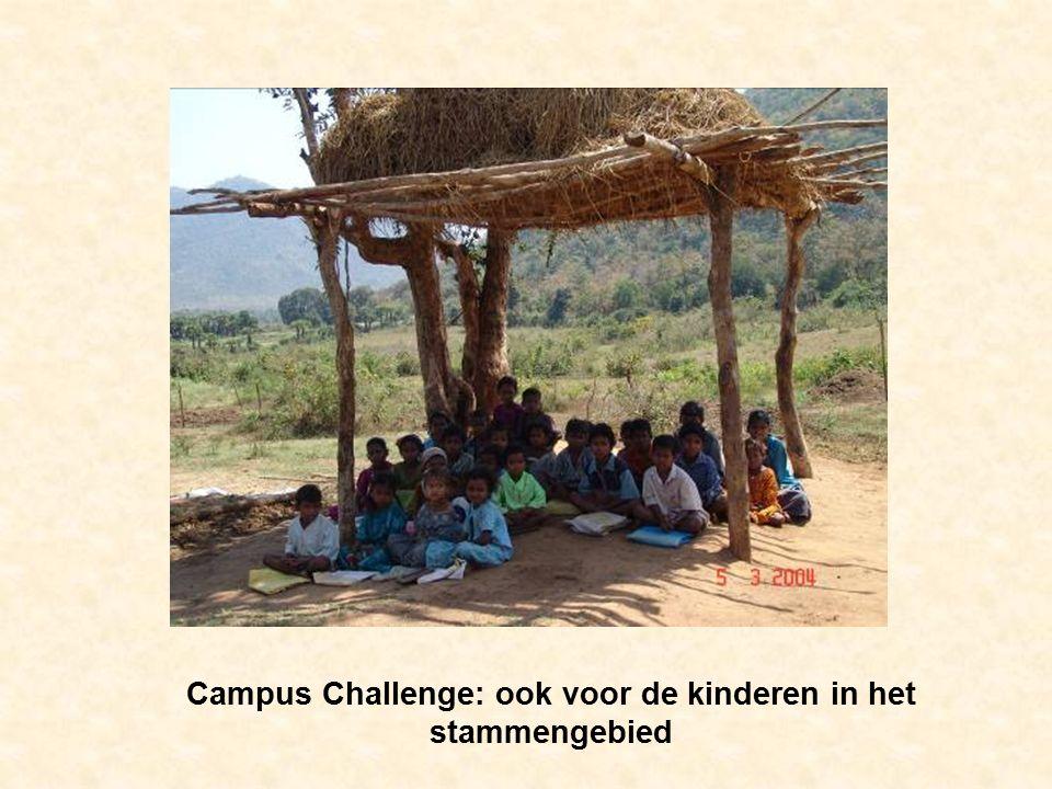 Campus Challenge: ook voor de kinderen in het stammengebied