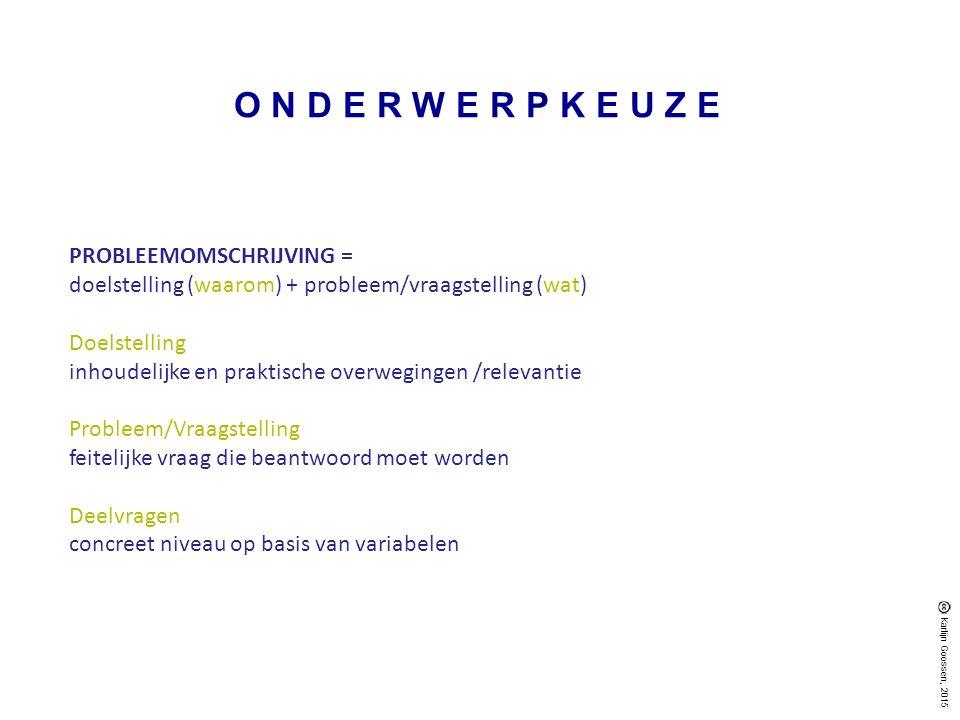 ANNOTEREN APA-RICHTLIJN #literatuurlijst&bronvermelding Karlijn Goossen, 2015