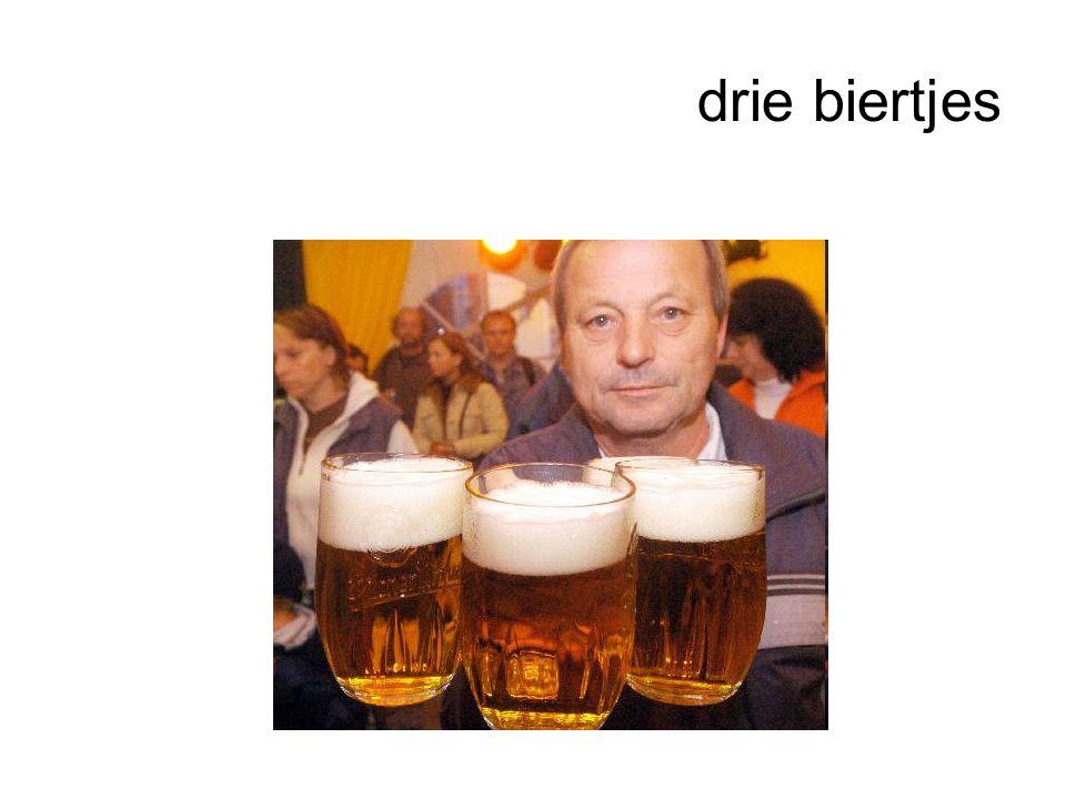 drie biertjes