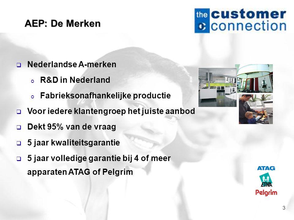 3  Nederlandse A-merken o R&D in Nederland o Fabrieksonafhankelijke productie  Voor iedere klantengroep het juiste aanbod  Dekt 95% van de vraag 