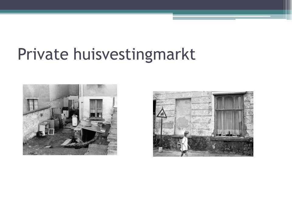 Private huisvestingmarkt Particulier verhuurder Voordelen: ▫Hoeven niet zo lang te wachten op een woning Nadelen: ▫Ze moeten tevreden zijn met een won
