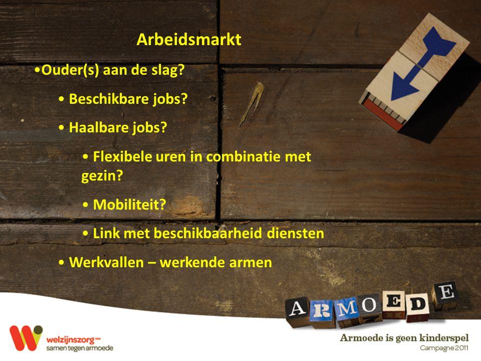 Arbeidsmarkt Ouder(s) aan de slag.Beschikbare jobs.
