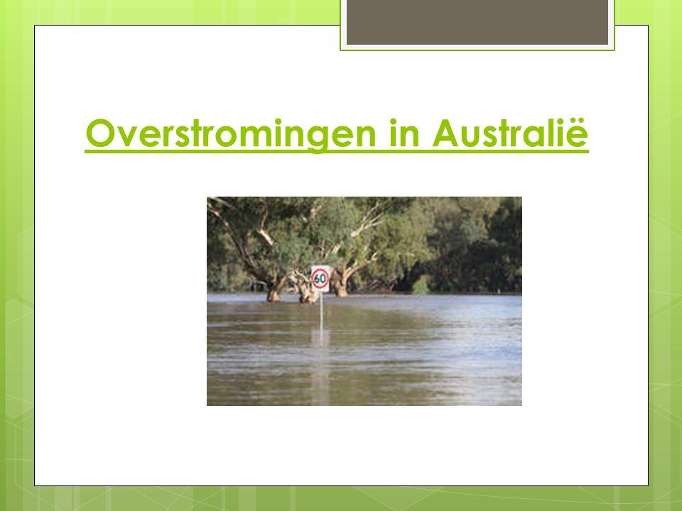 Overstromingen in Australië