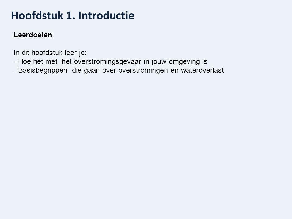 www.overstroomik.nl Hoofdstuk 6. Hoe kun je jezelf voorbereiden op een overstroming?