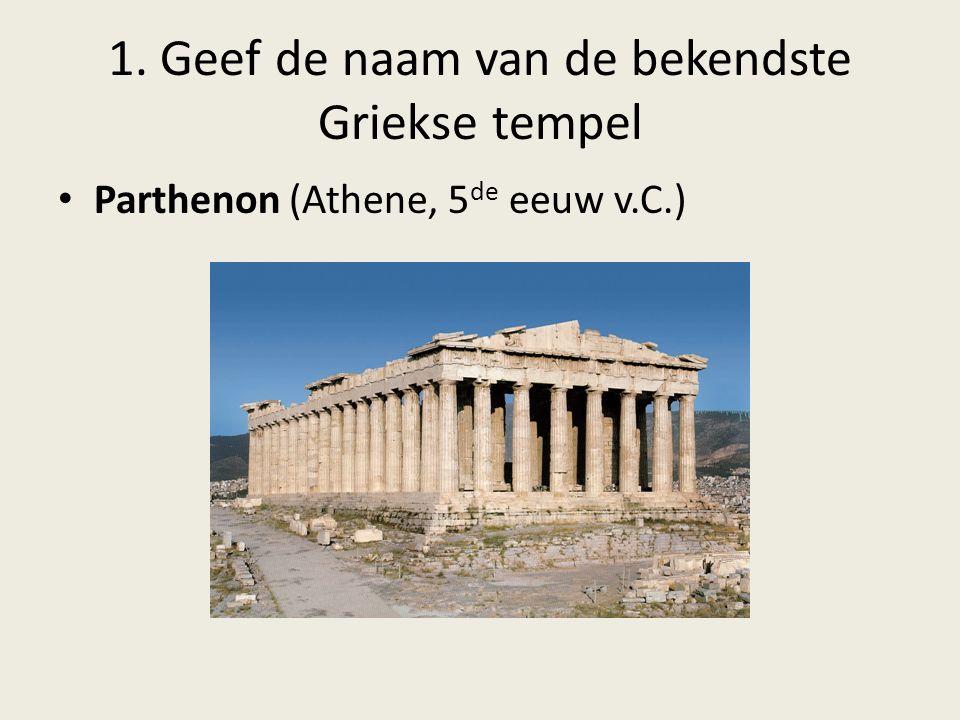 2.Wat is de gelijkenis tussen het Griekse en het Christelijke geloof.