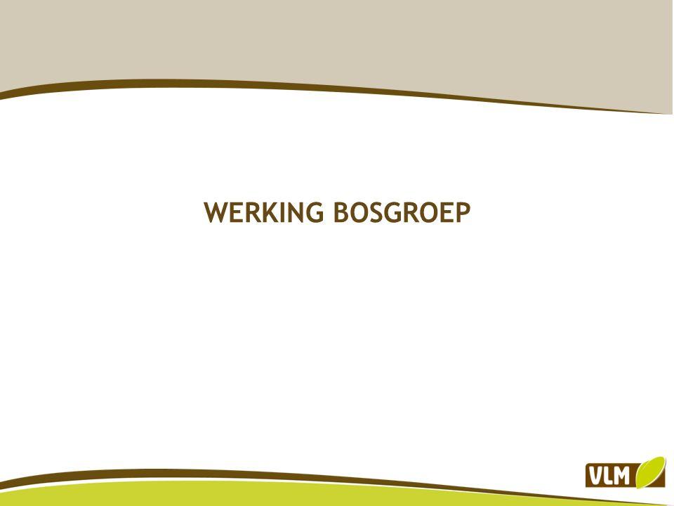 WERKING BOSGROEP