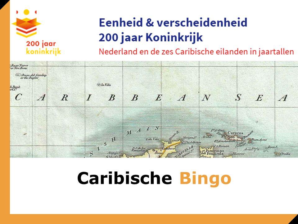 Welk ministerie gaat over het contact met de Caribische Nederlanden? Caribische Bingo