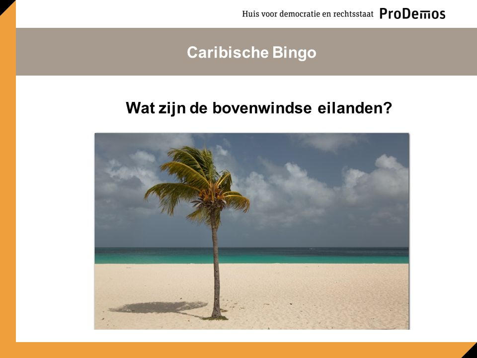 Wat zijn de bovenwindse eilanden Caribische Bingo