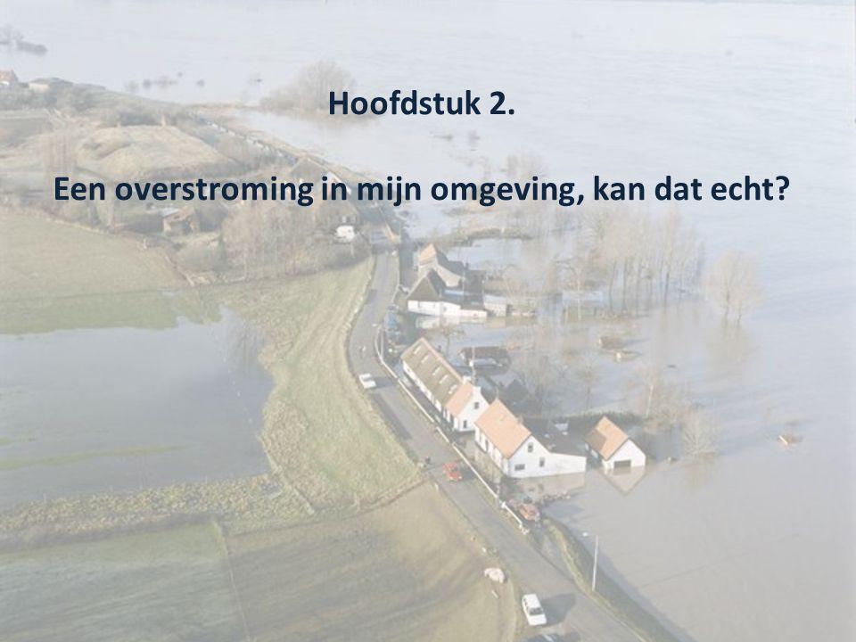 Hoofdstuk 2. Een overstroming in mijn omgeving, kan dat echt?
