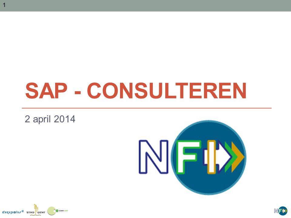 1 SAP - CONSULTEREN 2 april 2014
