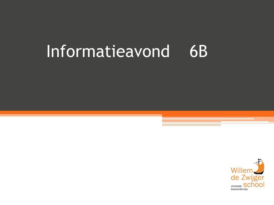 Informatieavond 6B