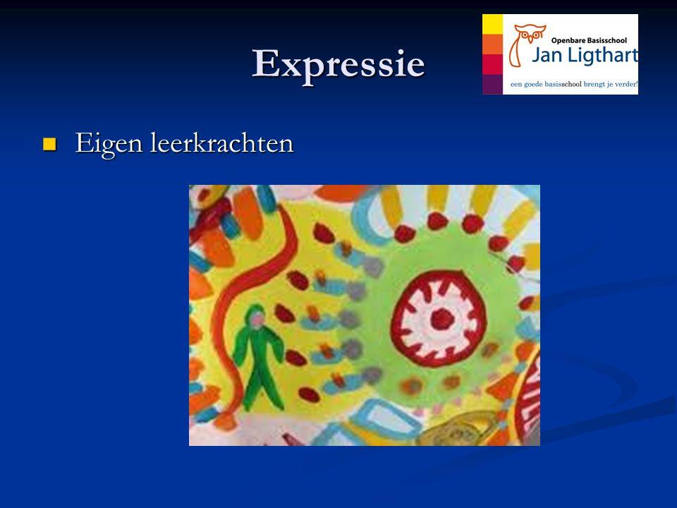 Expressie Eigen leerkrachten Eigen leerkrachten