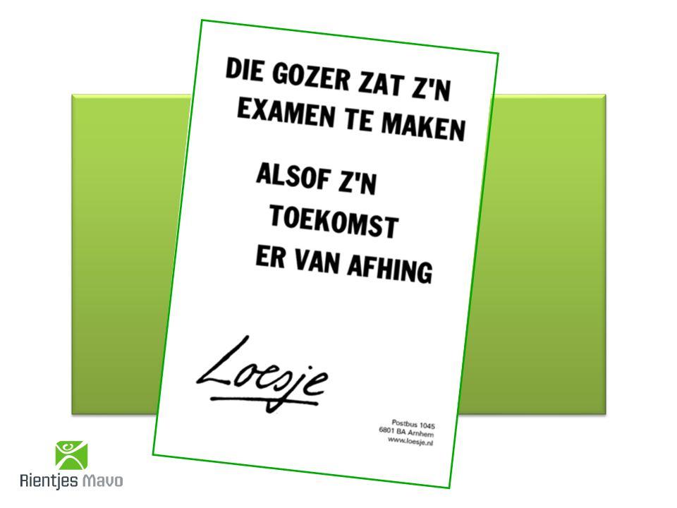 VRAGEN? Op veel vragen is het antwoord terug te vinden op: www.examenblad.nl www.examenblad.nl