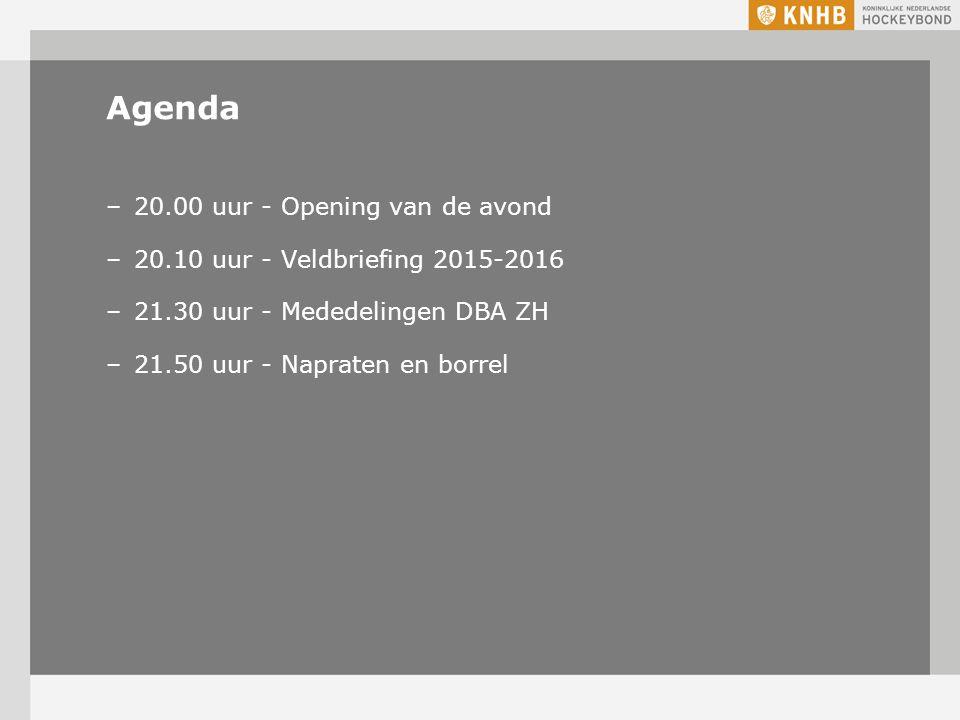 Briefing seizoen 2015-2016 WELKOM
