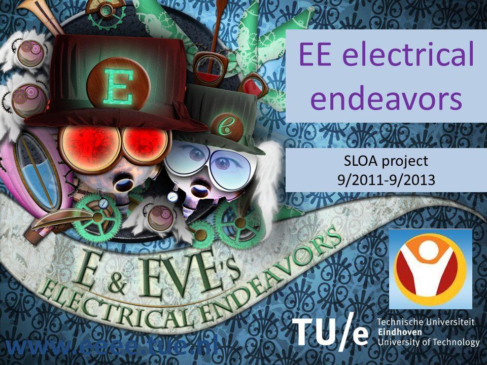 www.eeee.tue.nl EE electrical endeavors SLOA project 9/2011-9/2013