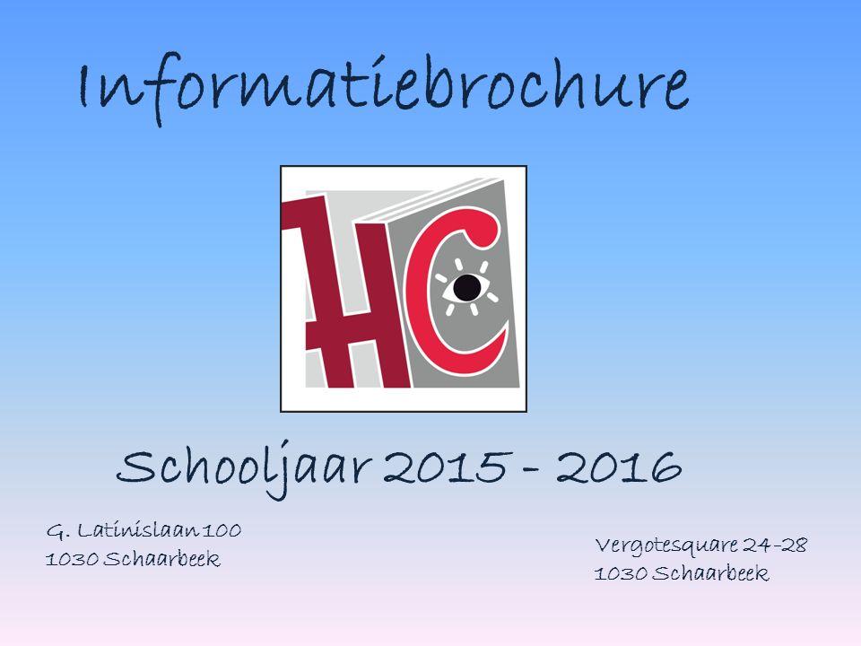 Informatiebrochure Schooljaar 2015 - 2016 G.