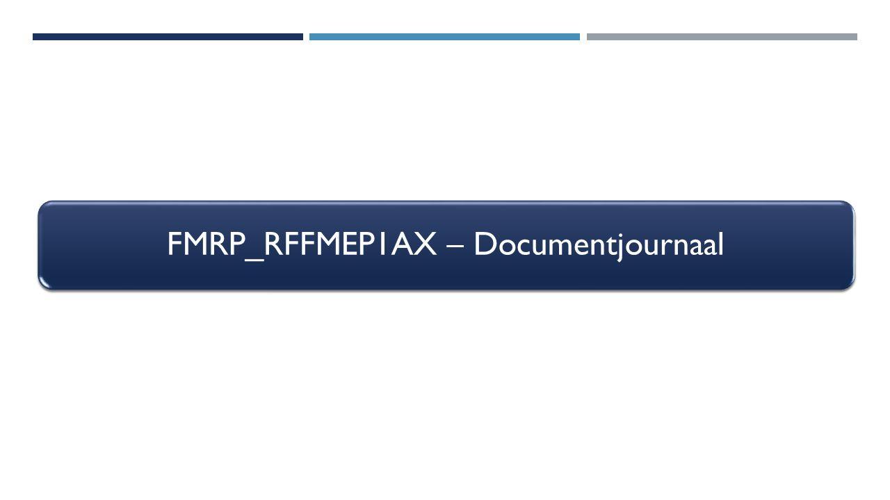 FMRP_RFFMEP1AX – Documentjournaal