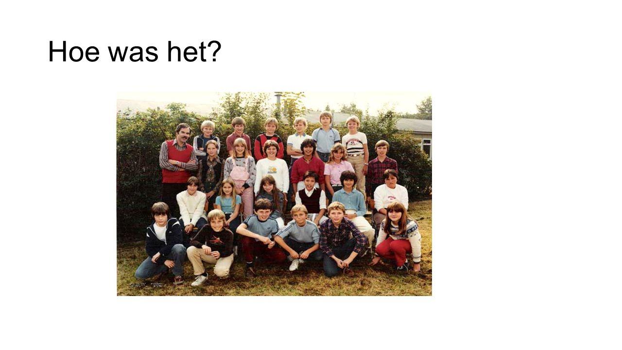 Van groep 8 naar de brugklas Nieuwe school Weer de jongsten Meer zelfstandigheid, verantwoordelijkheid