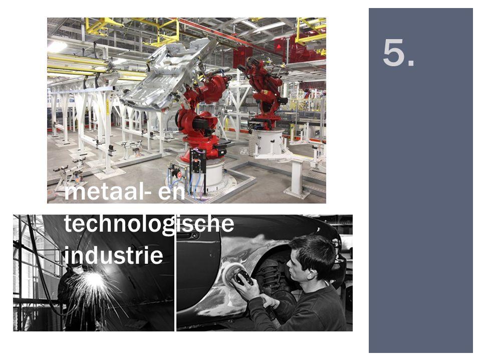 5. metaal- en technologische industrie
