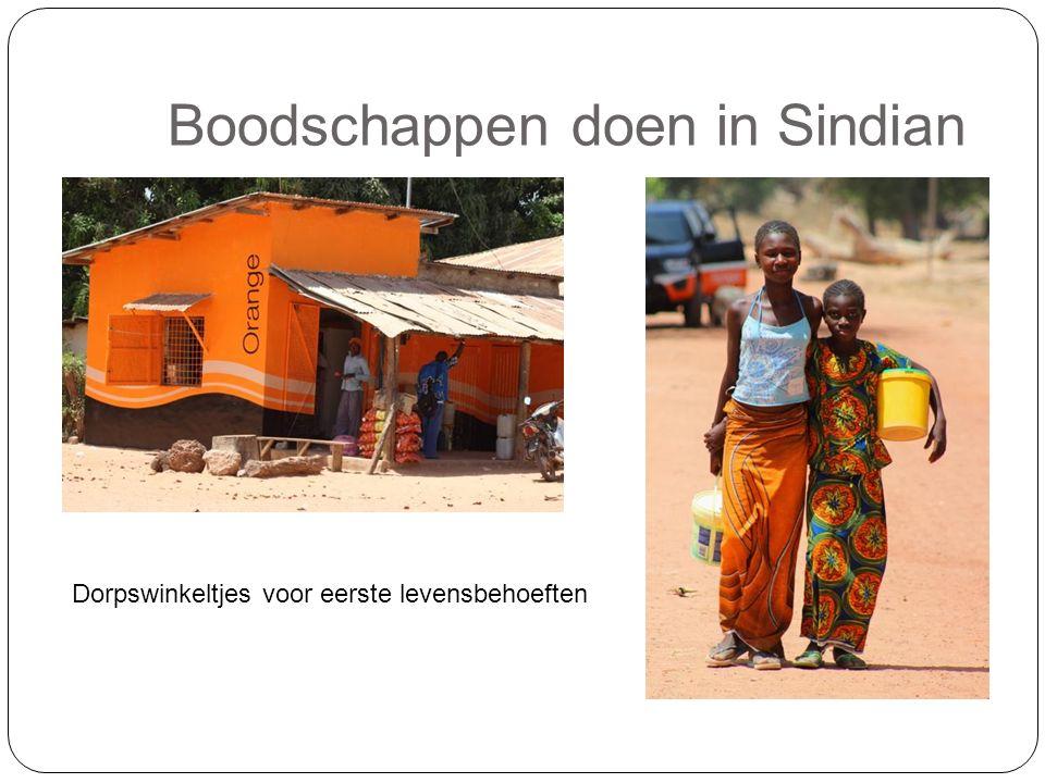 Boodschappen doen in Sindian Dorpswinkeltjes voor eerste levensbehoeften