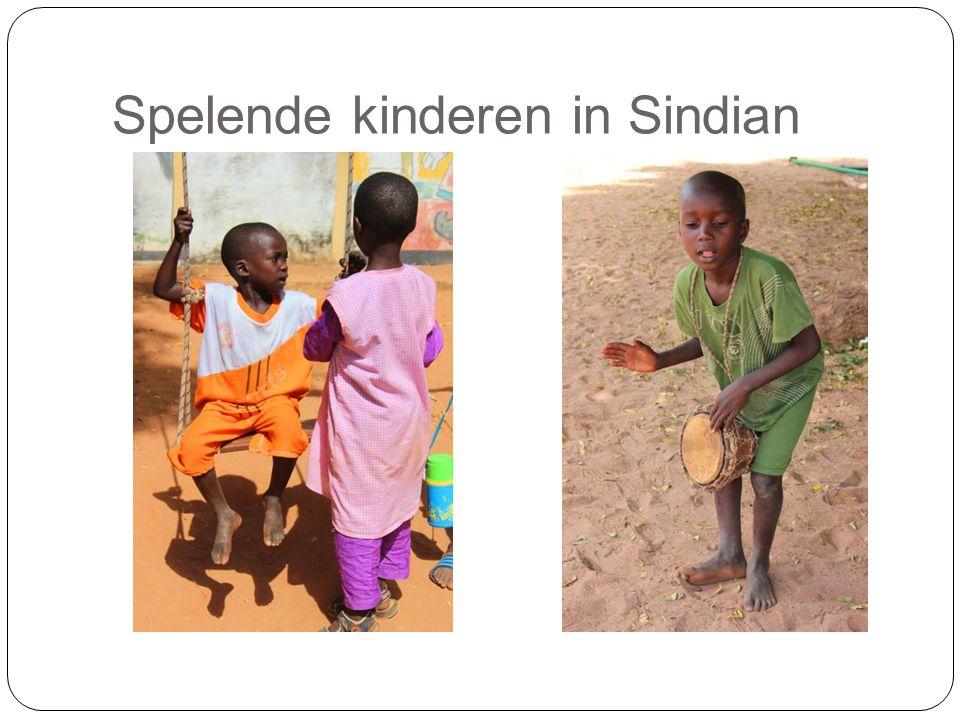Spelende kinderen in Sindian