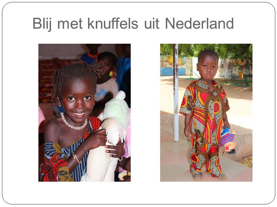 Blij met knuffels uit Nederland