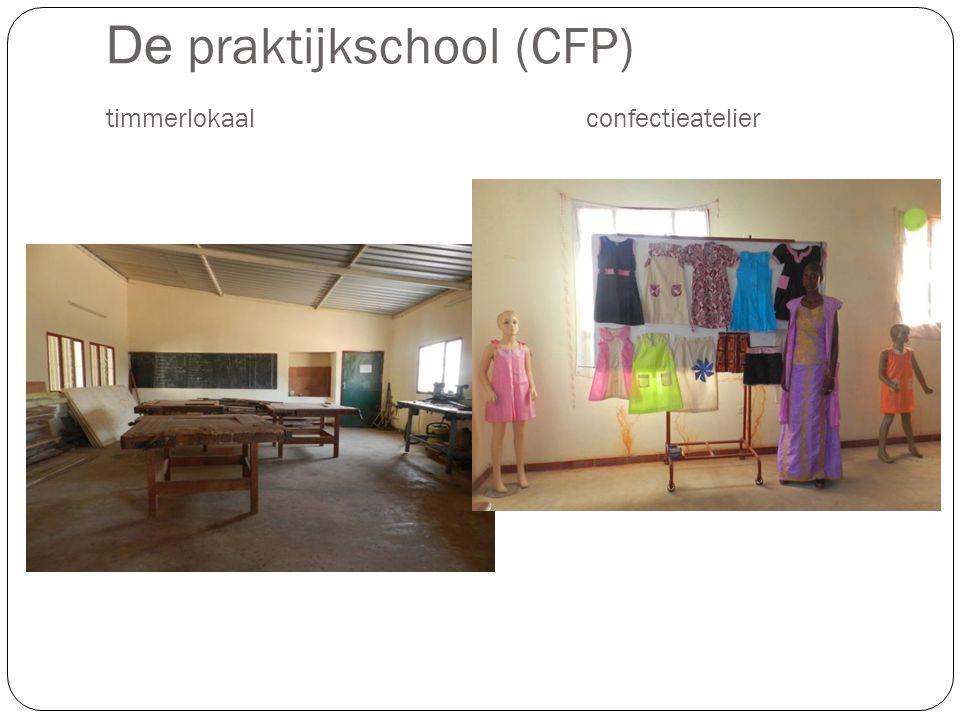 De praktijkschool (CFP) timmerlokaalconfectieatelier