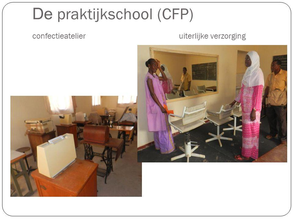 De praktijkschool (CFP) confectieatelieruiterlijke verzorging