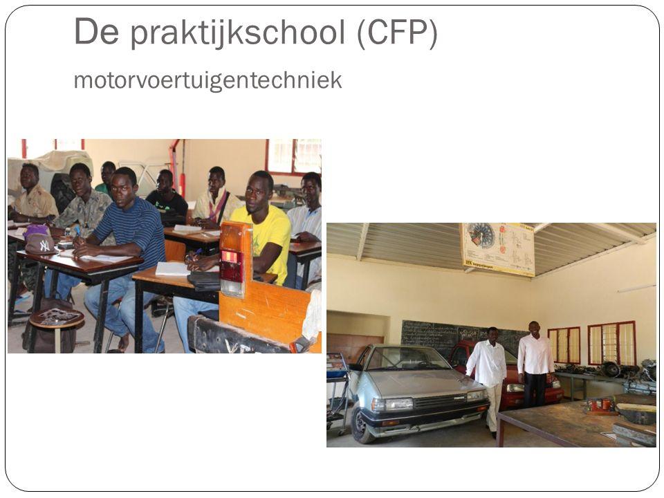 De praktijkschool (CFP) motorvoertuigentechniek