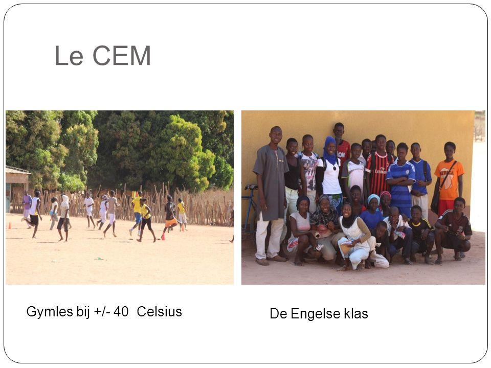 Le CEM De Engelse klas Gymles bij +/- 40 Celsius