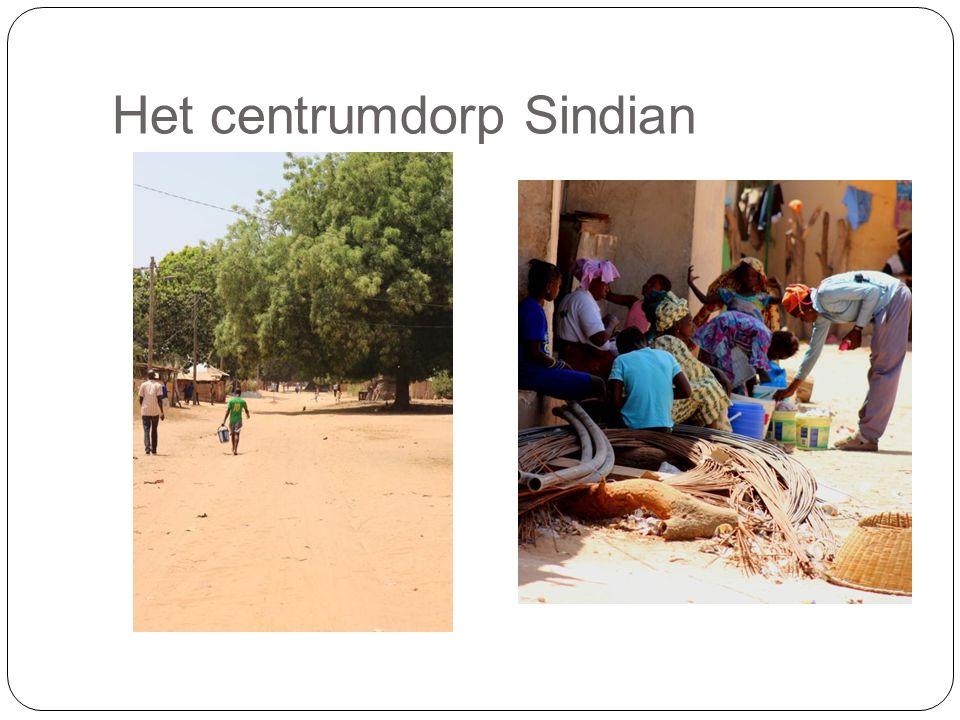 Het centrumdorp Sindian
